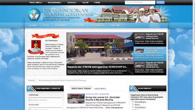 jasa pembuatan website profesional instansi pemerintah
