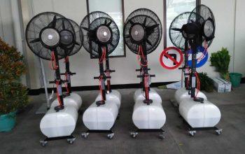 Sewa Kipas Blower Jenis Misty Fan? Begini Cara Kerja Sistemnya!
