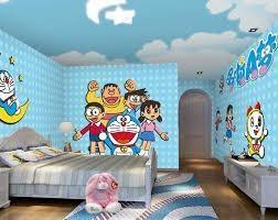 Dekorasi Kamar Doraemon yang Lucu